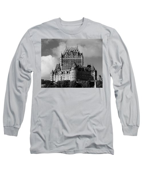 Le Chateau Frontenac - Quebec City Long Sleeve T-Shirt by Juergen Weiss