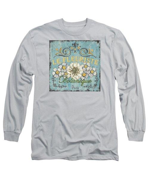 Le Fleuriste De Botanique Long Sleeve T-Shirt