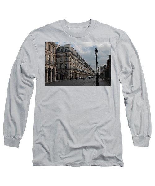 Long Sleeve T-Shirt featuring the photograph Le Meurice Hotel, Paris by Christopher Kirby