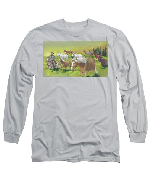 Leading The Bell Mare Long Sleeve T-Shirt