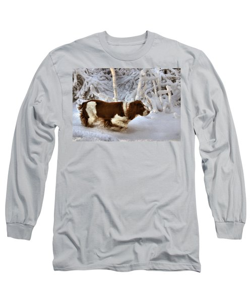 Leading The Way Long Sleeve T-Shirt by Kristin Elmquist