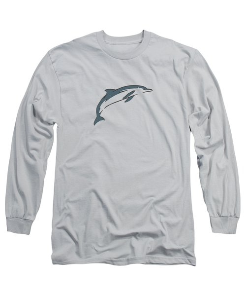 leather Dolphin Long Sleeve T-Shirt