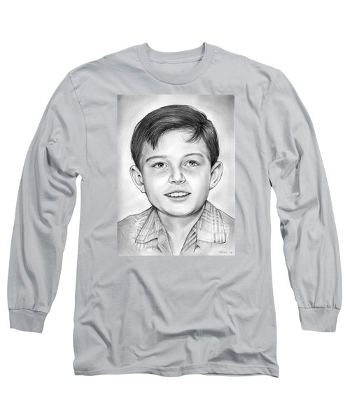 Leave It To Beaver Long Sleeve T-Shirt by Greg Joens