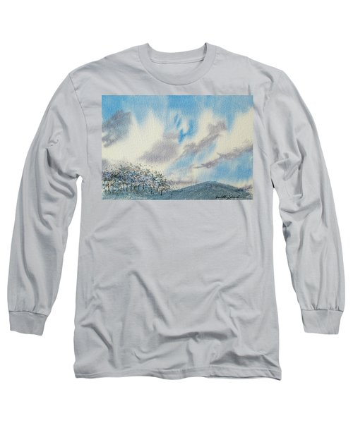 The Blue Hills Of Summer Long Sleeve T-Shirt