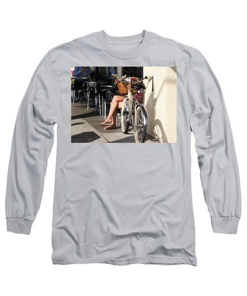 Leg Power - On Montana Avenue Long Sleeve T-Shirt