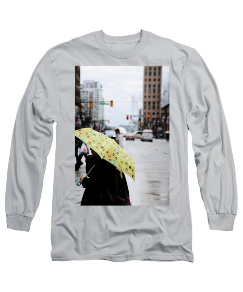 Lemons And Rubber Boots  Long Sleeve T-Shirt by Empty Wall