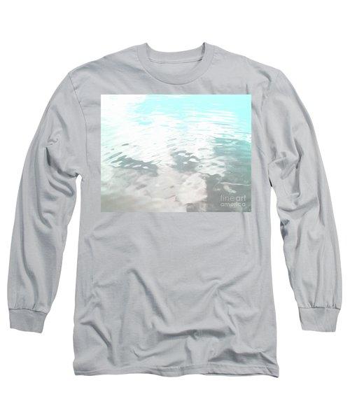 Let It Flow Long Sleeve T-Shirt by Rebecca Harman