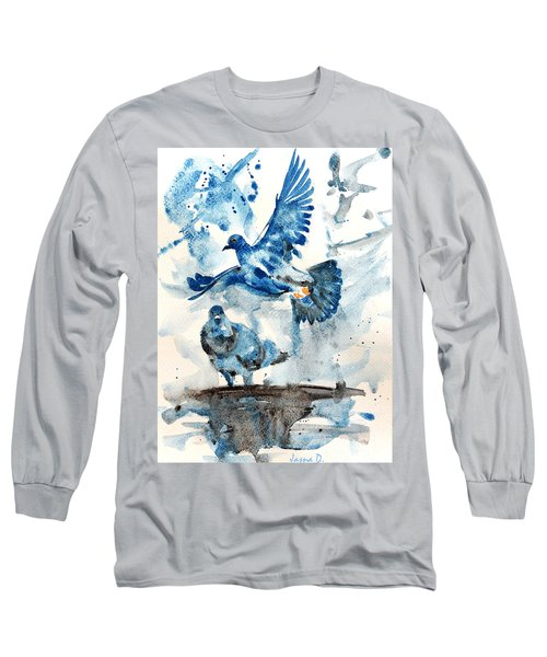 Let Me Free Long Sleeve T-Shirt by Jasna Dragun