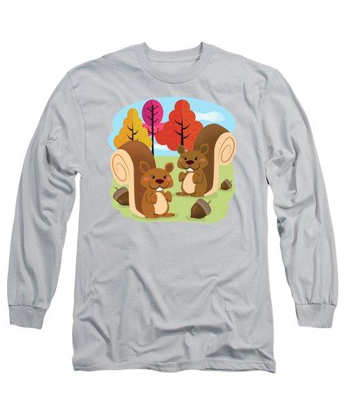 Let The Acorns Fall Long Sleeve T-Shirt