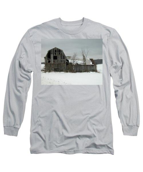 Letchworth Barn 0077b Long Sleeve T-Shirt