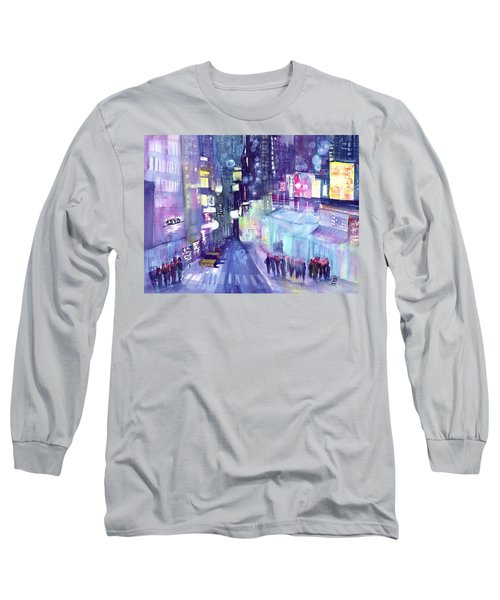 Chinatown New York Long Sleeve T-Shirt