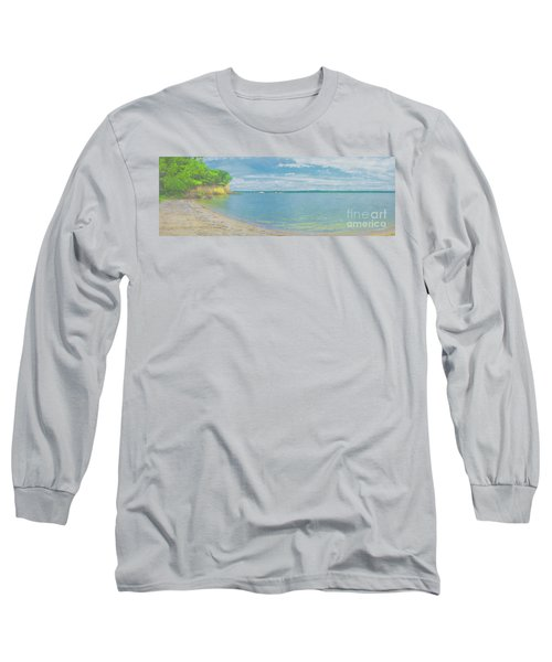 Lewis And Clark Lake Long Sleeve T-Shirt