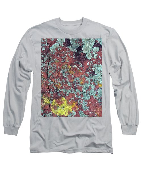 Lichen Colors Long Sleeve T-Shirt by Todd Breitling