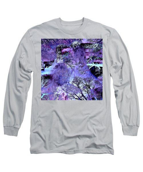 Life In The Ultra Violet Bush Of Ghosts  Long Sleeve T-Shirt
