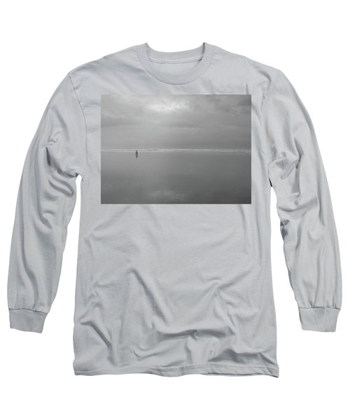Long Sleeve T-Shirt featuring the photograph Life Is A Beach by Suzy Piatt