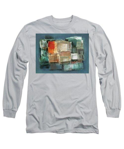 Patterns Long Sleeve T-Shirt by Behzad Sohrabi