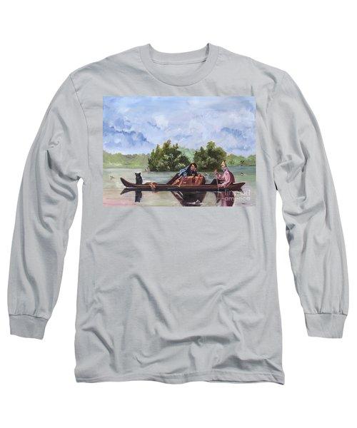 Life On The Missouri River Long Sleeve T-Shirt
