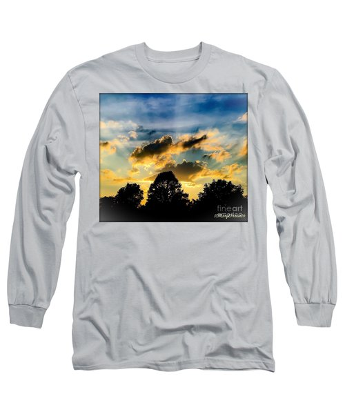 Life With Out Words Long Sleeve T-Shirt by MaryLee Parker