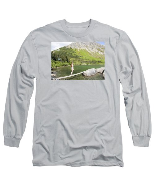 Light As A Feather Long Sleeve T-Shirt
