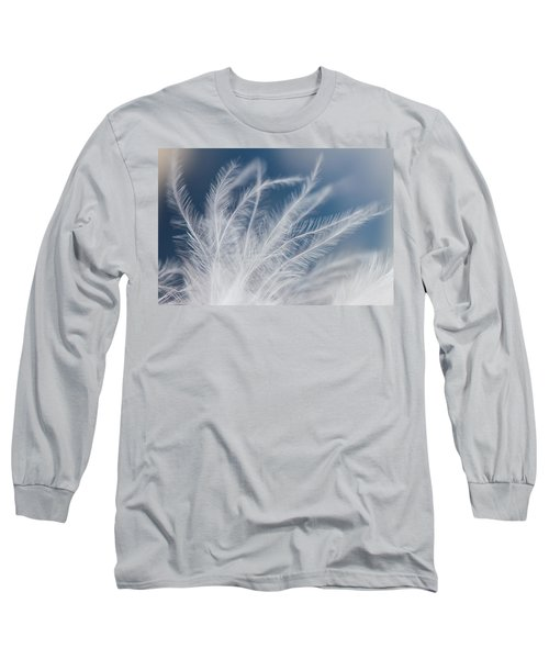 Long Sleeve T-Shirt featuring the photograph Light As A Feather by Yvette Van Teeffelen