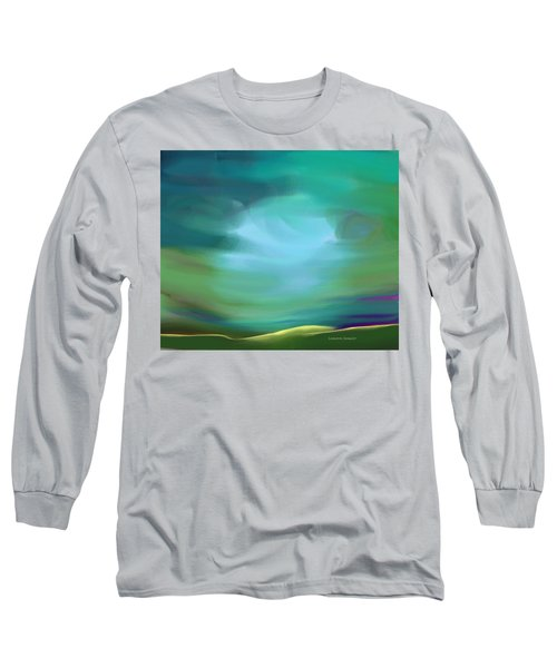 Light In The Storm Long Sleeve T-Shirt by Lenore Senior
