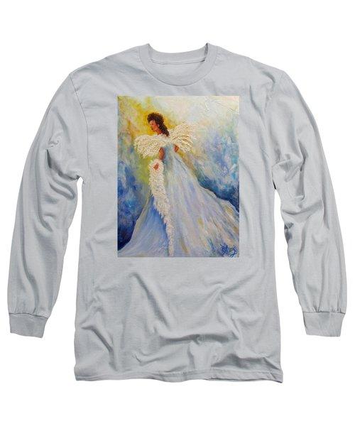 Light Of Grace,angel Long Sleeve T-Shirt