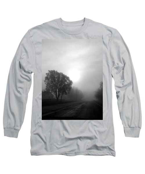 Light Through A Fog Long Sleeve T-Shirt