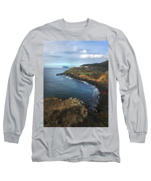Lighthouse On Terceira Long Sleeve T-Shirt