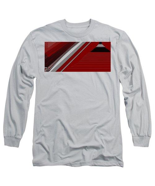Lines 50 Long Sleeve T-Shirt by Linda Velasquez