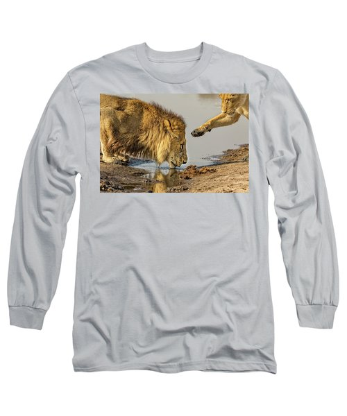 Lion Affection Long Sleeve T-Shirt