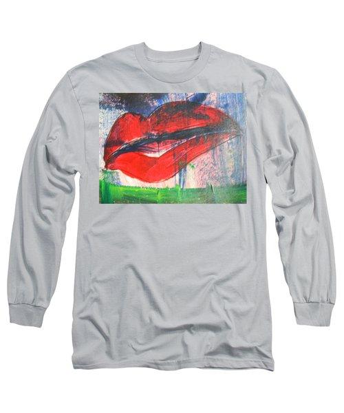 Lipstick - Sold Long Sleeve T-Shirt