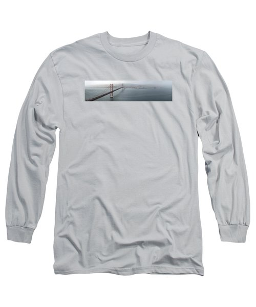 Lisbon On A Foggy Day Long Sleeve T-Shirt