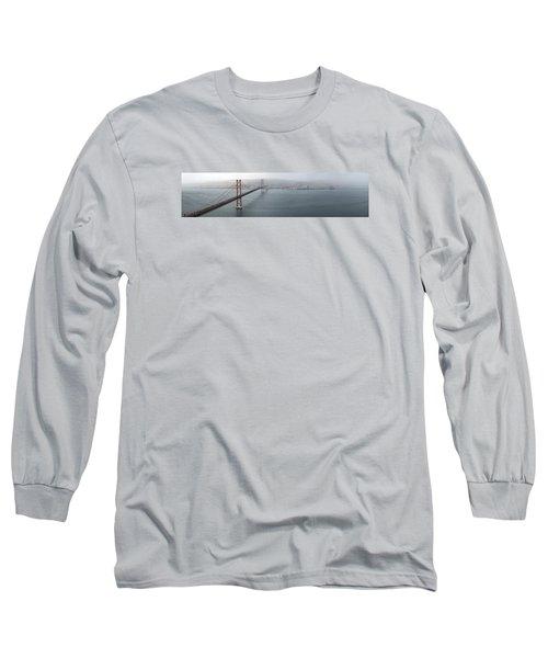 Lisbon On A Foggy Day Long Sleeve T-Shirt