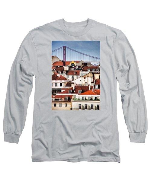 Lisbon Rooftops Long Sleeve T-Shirt
