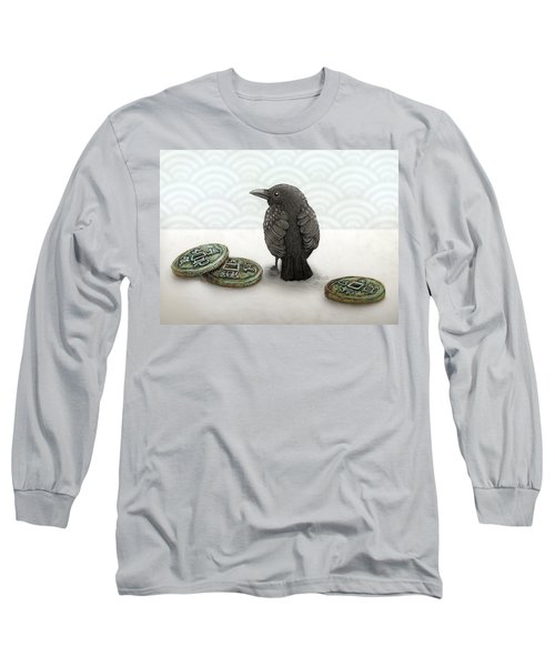 Little Bird And Coins Long Sleeve T-Shirt