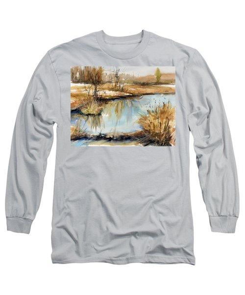 Little Dam Long Sleeve T-Shirt by Judith Levins