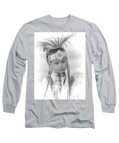 Little Native American Dancer Long Sleeve T-Shirt