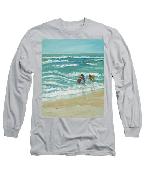Little Surfers Long Sleeve T-Shirt
