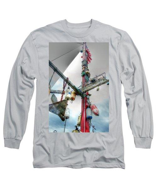 Live Crab Hdr 2164 Long Sleeve T-Shirt