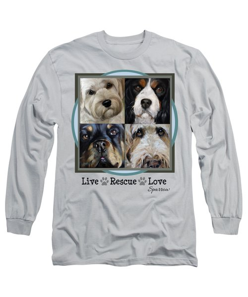 Live Rescue Love Long Sleeve T-Shirt