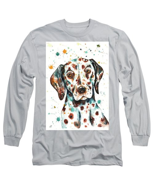Liver-spotted Dalmatian Long Sleeve T-Shirt
