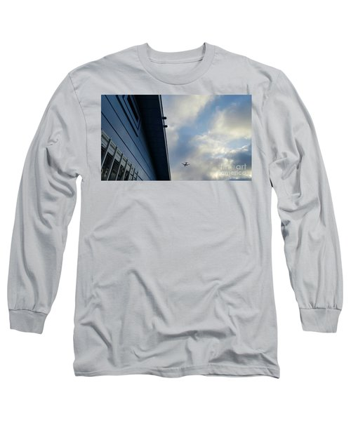 Living In The Landing Zone  Long Sleeve T-Shirt by Angela J Wright