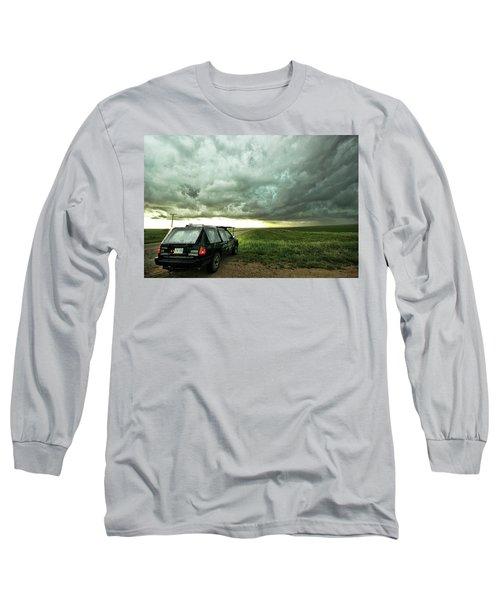 Living Saskatchewan Sky Long Sleeve T-Shirt
