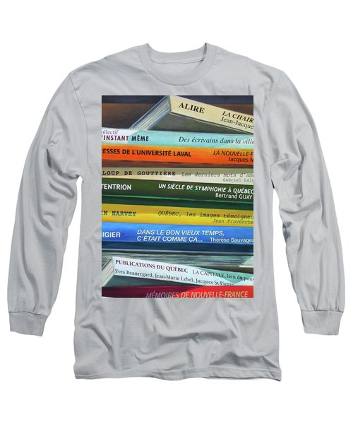 Livres ... Long Sleeve T-Shirt