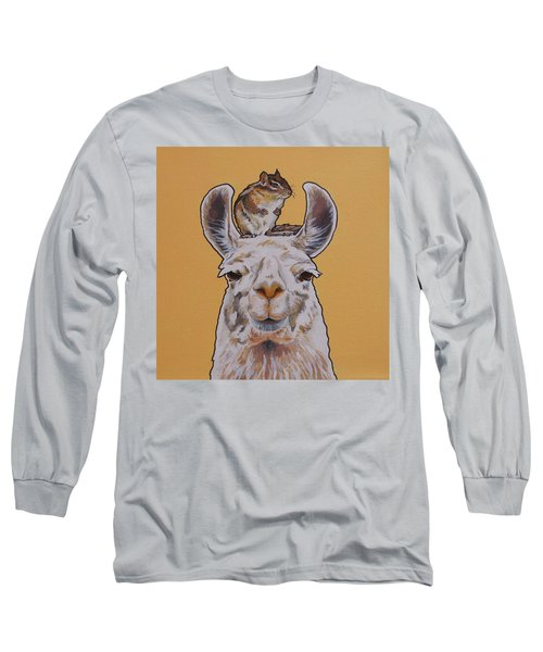 Llois The Llama Long Sleeve T-Shirt