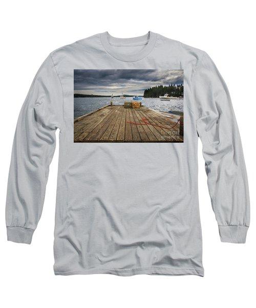 Lobster Boats Of Winter Harbor Long Sleeve T-Shirt
