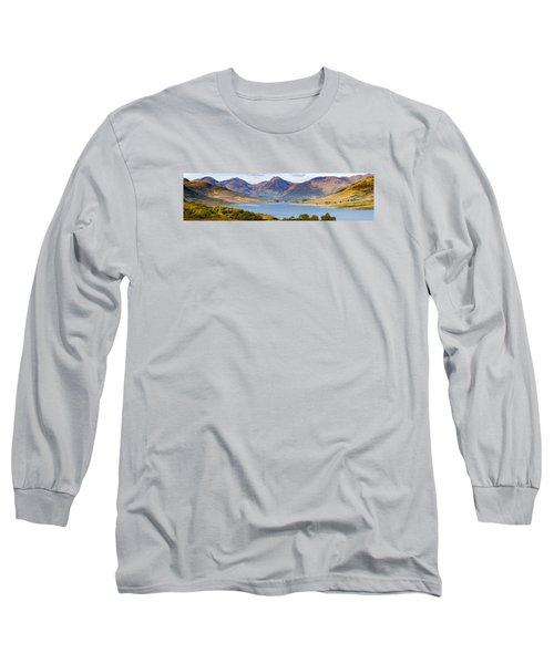 Loch Arklet And The Arrochar Alps Long Sleeve T-Shirt