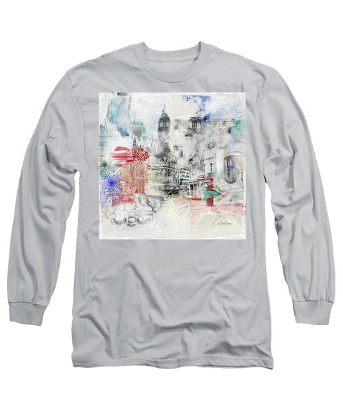 London Study Long Sleeve T-Shirt by Nicky Jameson