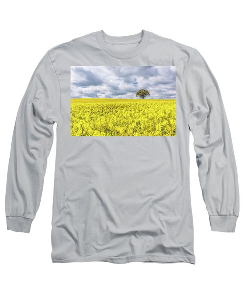 Long Sleeve T-Shirt featuring the photograph Lone Beauty by Nick Bywater