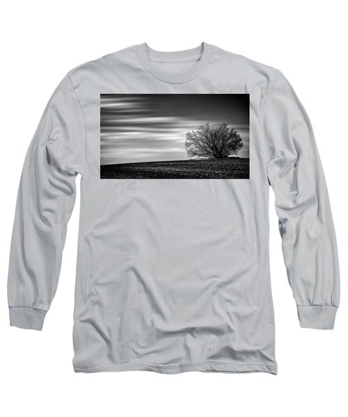Long Sleeve T-Shirt featuring the photograph Lone Tree by Dan Jurak